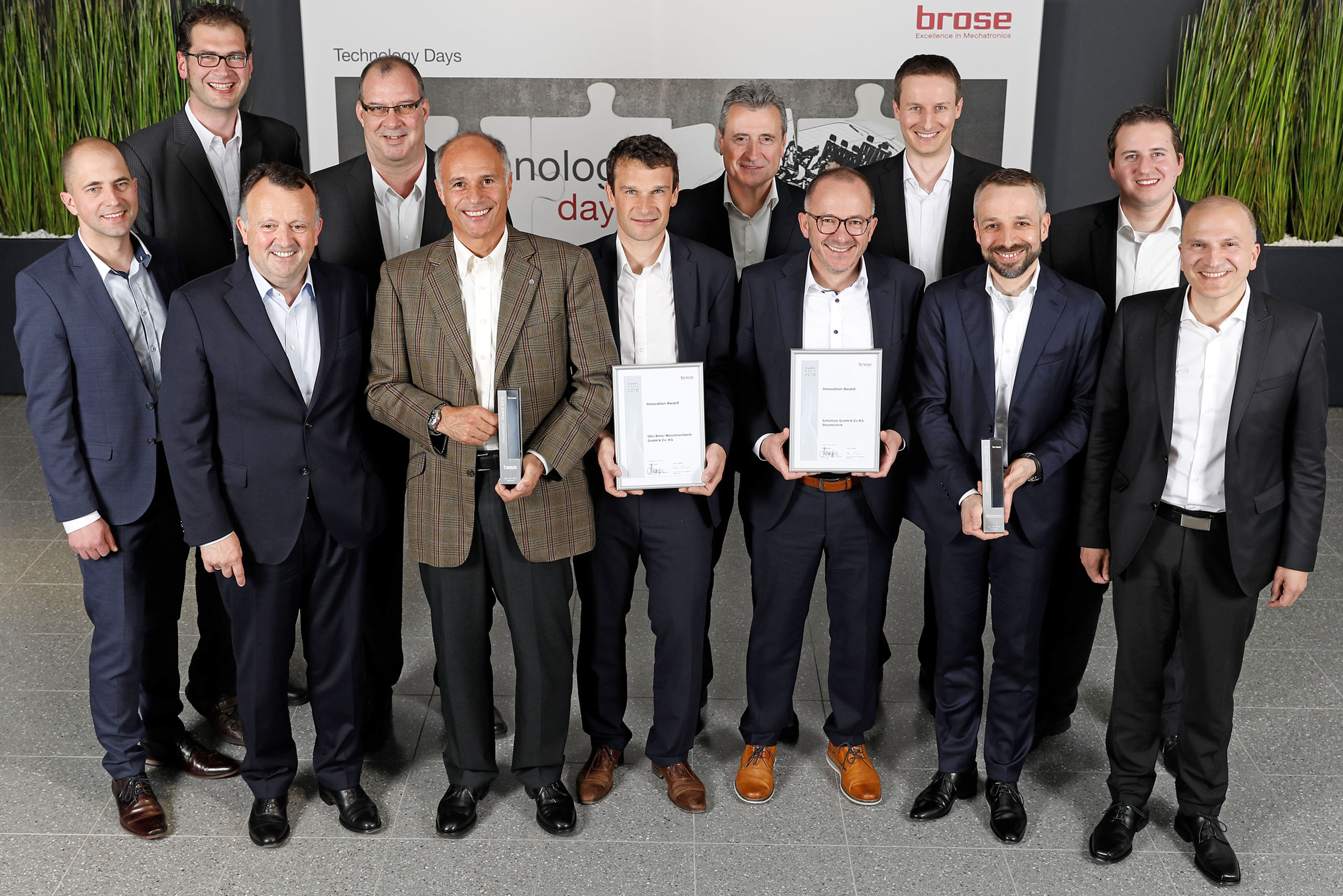 Supplier Innovation Award pour Bihler et Schürholz